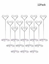 """8"""" Table Number Holder For Wedding Place Card Photo Party Numbers Holders Stands"""