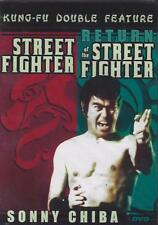 DVD: DOUBLE FEATURE: STREET FIGHTER & RETURN OF THE STREET FIGHTER....NEW