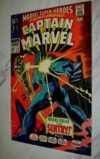 Marvel Super-Heroes #13 NM 9.4 White 1968 - 1st Carol Danvers as Captain Marvel