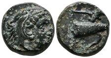 Koc Greek Coins.IONIA. Erythrai. Circa 400-375 BC. Chalkous Bronze, 12 mm, 2.47g