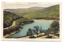 rive-de-gier  , le barrage et la route de sainte-croix