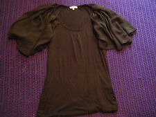 River Island smart black top size 10 work formal casual