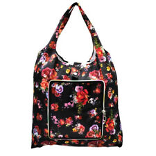 Everyday Deal Klein Travel Women Eco Shopping Bag Tote Handbag Pouch (Flowers)