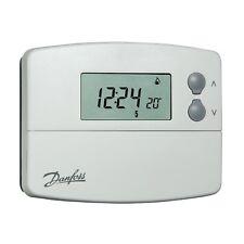 Thermostat d'ambiance programmable TP5001 à piles - sonde intégreé - Danfoss 08