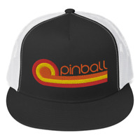 *NEW* Retro 70s Style Pinball Trucker Cap by Turbo Volcano (hat)
