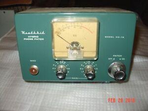 Heathkit HD-19 Phone Patch (standard ma bell 600 ohm) w/Original Manual