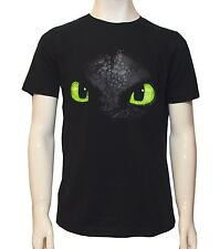 Dragons Kinder T-Shirt **Ohnezahn/Toothless**schwarz(128/134)Lizenzware NEU&OVP