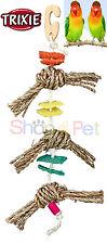 Trixie oiseau cage jouet 100% de matériaux naturels, herbes marines, luffa (squash plante) BOIS