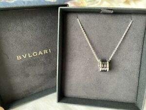 New Original BVLGARI SAVE THE CHILDREN NECKLACE 349634 Bought From Bvlgari Crown