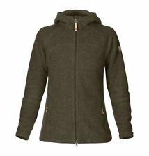 Women's Fjallraven Kaitrum Fleece Dark Olive Size S Warm Ski Jacket Jumper