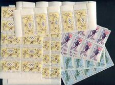 37040a) CZECHOSLOVAKIA 1956 MNH** Olympics Melbourne 3v in blocks of 50 sets