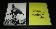 Lefty Grove Red Sox Framed 12x18 Photo & Quote Display