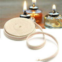 14.76inches Round Cotton Wicks Burner Lamp Wick For Kerosene Oil Alcohol Lamp LH