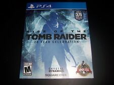 Rise of the Tomb Raider Book/Case & Slip cover ONLY from 20 Year Edition PS4