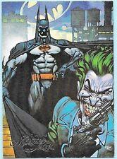 Batman Master Series promo card. Joker. DC Comics.  1996