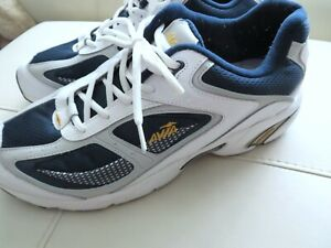 Avia Men's Cantilever Athletic Shoes, Size 11.5 White Shoes Running