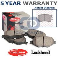 Rear Delphi Lockheed Brake Pads For Vauxhall Opel Insignia Saab 9-5 LP2084