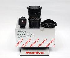 Mamiya n 50mm f4.5 l para 7 7ii nuevo/New Inc. 19% IVA/VAT