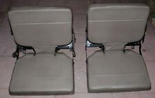 OEM 1996 Land Rover Discovery Beige Rear  Cargo Bay Jump Seat RH and LH