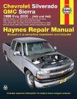 Repair Manual for Chevrolet Silverado & GMC Sierra 1999-06 2WD 4WD Haynes 24066 <br/> Repair Manual New / Order By 3PM CST Sameday Shipping