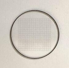 Okular-Strichplatte 23mm für Mikroskop/ Gitterplatte/Millimeterplatte