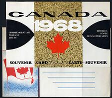 Weeda Canada VF 1968 Annual Souvenir Card #10 in original envelope CV $5
