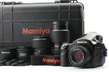 4Lens [Near Mint] MAMIYA 645 AFD w/ AF 80 45 55-110 105-210mm from Japan 1775