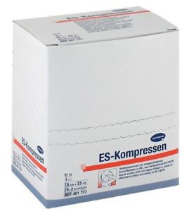 2x 25 ES-Kompressen 7,5cmx7,5cm 8-fach steril Wundkompressen