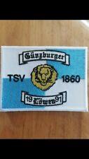 TSV 1860 München Fanclub Aufnäher Patch Kutte Günzburger Löwen