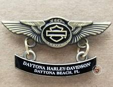 Daytona Harley Davidson® 110th Anniversary Wing Bar & Shield Vest pin
