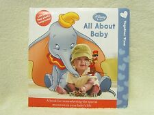 NEW Disney~All About Baby~Together Time Picture Memory Brag Book~Photo Album