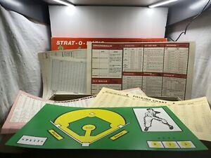 Vintage Strat O Matic Baseball Game 550+ Cards