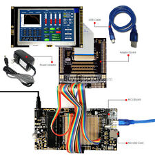 "8051 Microcontroller Development Board Kit USB Programmer for 4.3""TFT LCD Module"