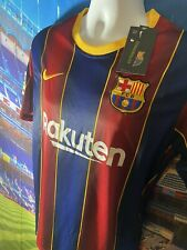 FC barcelona jersey Home Messi 2020/2021 Send From Inside USA SIZE MEDIUM