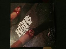 THE KINKS LOW BUDGET LP ARISTA 1979 AB 4240 WITH LYRIC SHEET