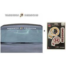 NFL Washington Redskins Car Truck Suv Windshield Decal Sticker with Bonus