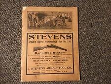 THE SPORTING GOODS DEALER MAGAZINE Oct 1909 Stevens Gun Coca Cola Baseball Etc