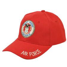 U.S Stati Uniti Aeronautica Militari Regolabile Cappello USAF Rosso eb2de22f5a8c