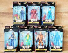 """MARVEL LEGENDS X-MEN AGE OF APOCALYPSE 6"""" ACTION FIGURE SET OF 7+1 BAF COLOSSUS!"""