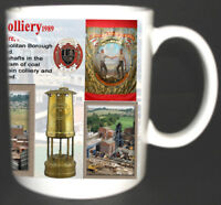 DARFIELD MAIN COLLIERY COAL MINE MUG. LIMITED EDITION GIFT MINERS YORKSHIRE PIT