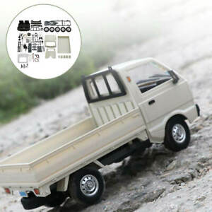 DIY Wpl D12 RC Truck Kits Brushed Climbing Truck Kids Toy for Birthday Gifts