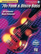 70s Funk and Disco Bass Sheet Music 101 Groovin' Bass Patterns Bass 000695614
