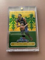 2014-15 Panini - Excalibue Basketball: Anthony Davis Gold #/5 With One Touch