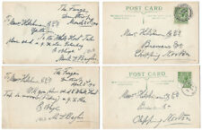 DUNTHROP Oxon 2 x Postcards from The Furze to Hitchman's Brewery 1914