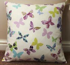 """Papillon housse de coussin rose/violet 16 x 16"""""""