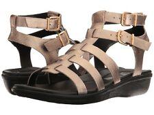 NEW CLARKS Manilla Parham Gladiator Sandal, Gold/Metallic, Women Size 7 M  $95