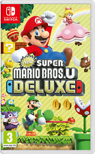 Nintendo Switch New Super Mario Bros U Deluxe New Super Mario Bros. U Deluxe, 3+
