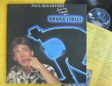 Paul McCartney Lp (ft Ringo Starr) + insert- Give My Regards To Broad Street,exc
