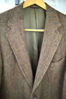 Ralph Lauren Polo University donegal Tweed Sport Coat vtg 80s 41L Union Blazer