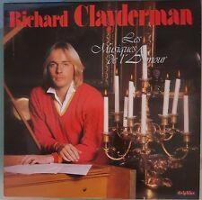 Vinyle 33T Richard Clayderman Les Musiques de l'Amour DEL 2 700045 DIS 217
